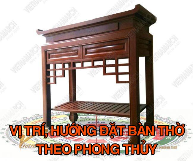 Chon vi tri - huong dat ban tho