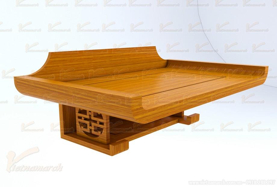 Mẫu bàn thờ treo đặt đóng chuẩn phong thủy 02