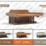 Những mẫu bàn thờ treo tường mang phong cách hiện đại pha nét truyền thống