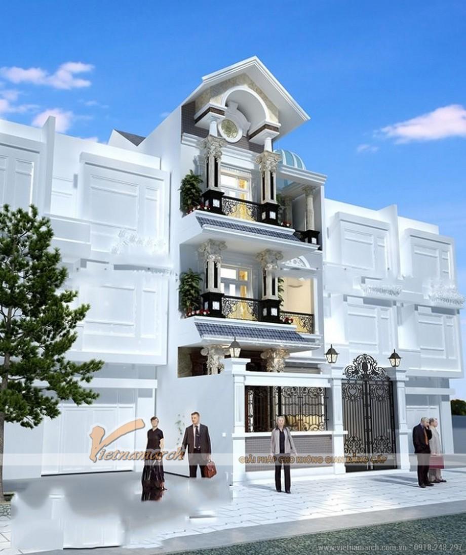 Mê mẩn với những mẫu nhà biệt thự kiểu Pháp đẹp lộng lẫy