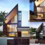 Chiêm ngưỡng 2 mẫu thiết kế biệt thự 2 tầng MÁI LỆCH độc đáo