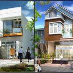 Những mẫu nhà phố 2 tầng đẹp, hiện đại chưa bao giờ lỗi thời