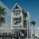 Những mẫu nhà phố 3 tầng đẹp thời thượng năm 2017 được các gia chủ lựa chọn