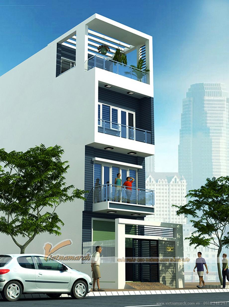 Bộ sưu tập mẫu nhà phố 4 tầng hiện đại gây sốt năm 2017