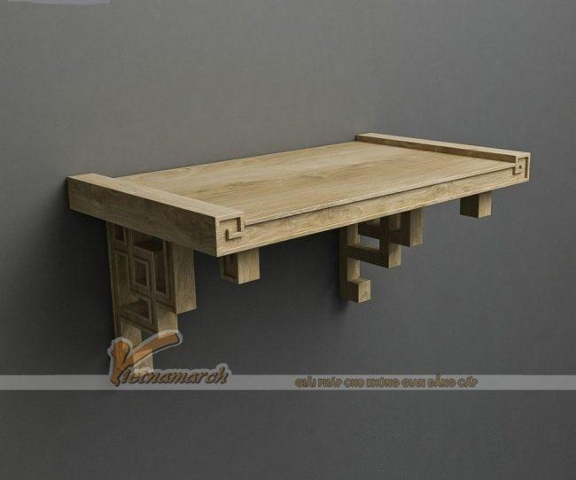 Những mẫu bàn thờ treo đẹp phù hợp cho căn hộ chung cư