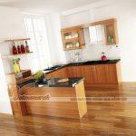Những mẫu tủ bếp hình chữ U hiện đại cho không gian phòng bếp