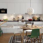 Những mẫu tủ bếp phong cách Scandinavian đẹp, hiện đại