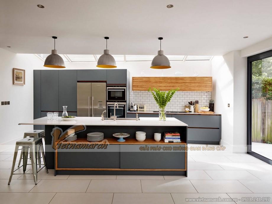 Thiết kế nội thất nhà bếp, phòng ăn hoàn hảo