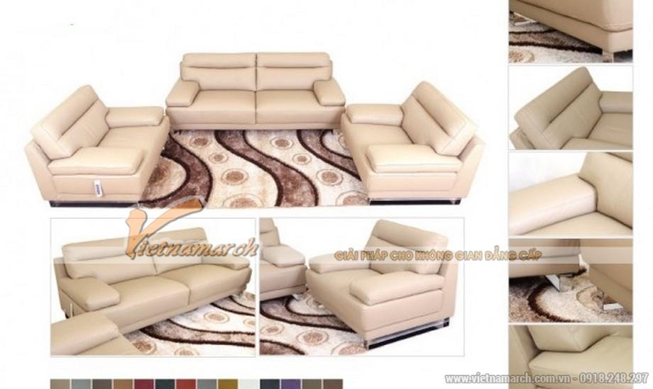 Mẫu Sofa Malaysia khung gỗ dầu cao cấp mới nhất