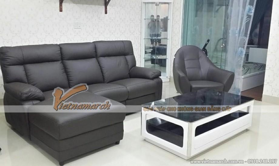 Khám phá mẫu sofa da thư giãn Malaysia hiện đại, sang trọng