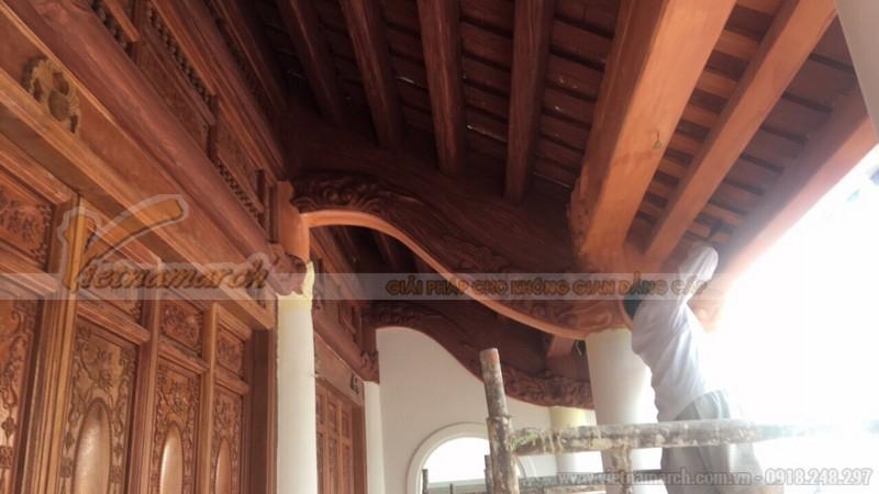 Ngôi nhà có kết cấu bê tông giả gỗ