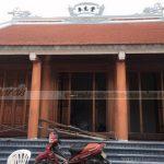 Thi công hoàn thiện ngôi nhà thờ 3 gian 2 mái tại Thanh Hóa