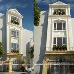 Những mẫu nhà phố tân cổ điển đẹp không thể bỏ lỡ