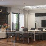 Thiết kế nội thất căn hộ tòa A chung cư Imperia Garden phong cách hiện đại, sang trọng