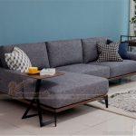 Mẫu sofa nỉ đẹp, hiện đại nhập khẩu từ Malaysia