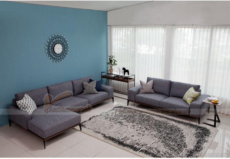 Điểm danh mẫu sofa nỉ đẹp, hiện đại nhập khẩu từ Malaysia