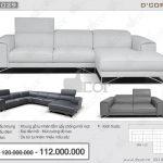 Cuốn hút với mẫu ghế sofa da cao cấp nhập khẩu từ Italia DG1029 – Saporini – Maya