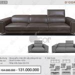 Trải nghiệm không gian sống mới với bộ sofa Italia đẹp mê li DV.1029 Saporini – Maya – Italia