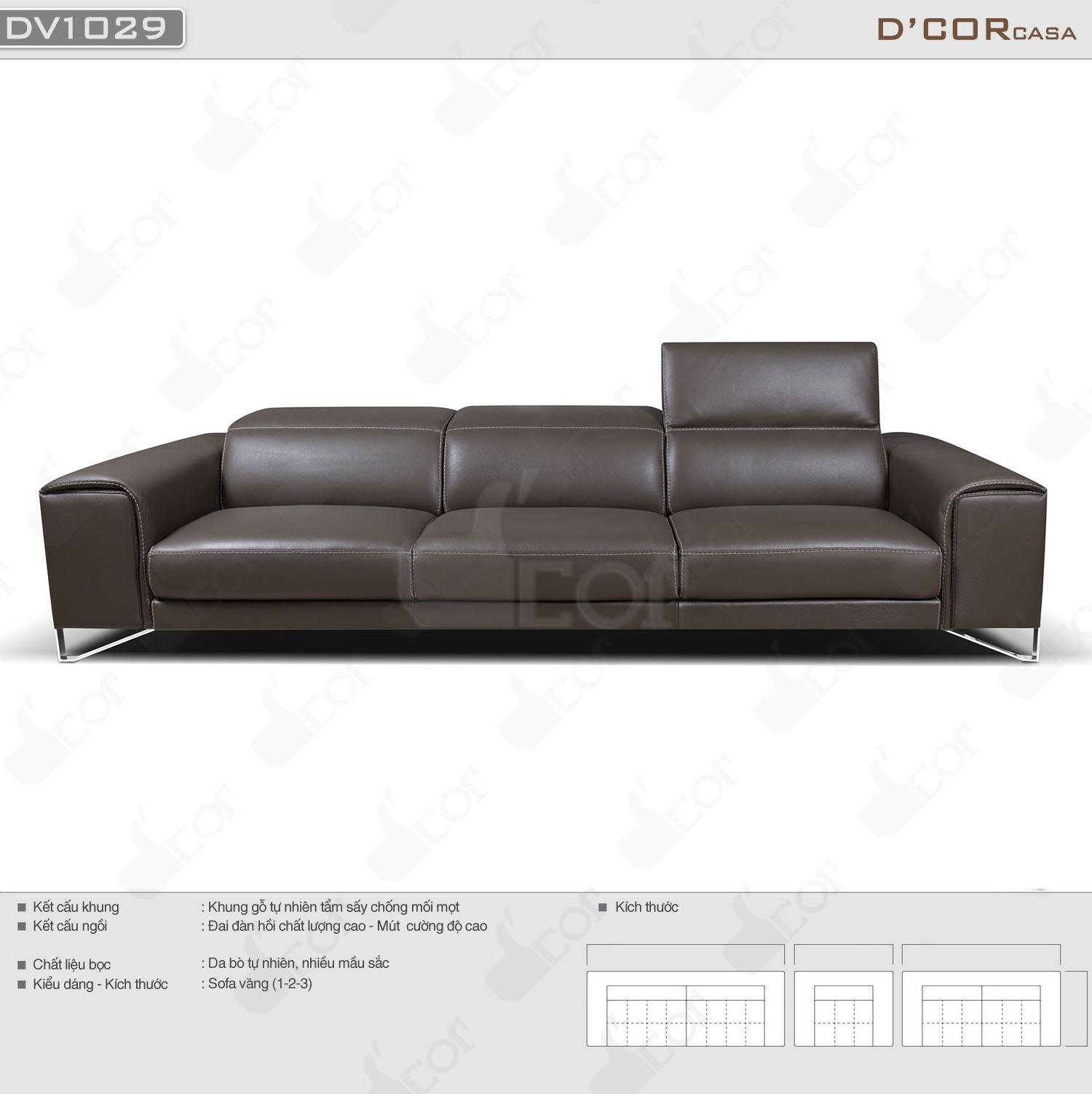 Bộ sofa văng italia Saporini - Maya