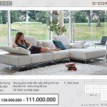 Bộ sofa nỉ nhập khẩu Italia thổi hồn cho cả căn phòng Mã: NG1050-METROPOLIS