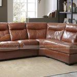 Bị mê hoặc với bộ sofa da Italia cao cấp cho phòng khách thêm sang