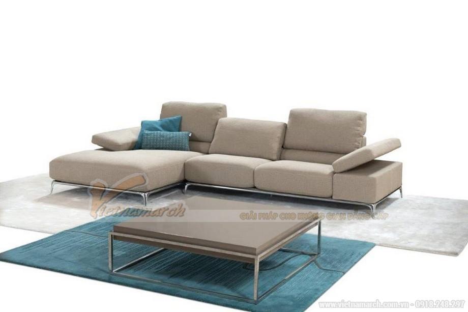Bộ sofa nỉ nhập khẩu Italia thổi hồn cho cả căn phòng