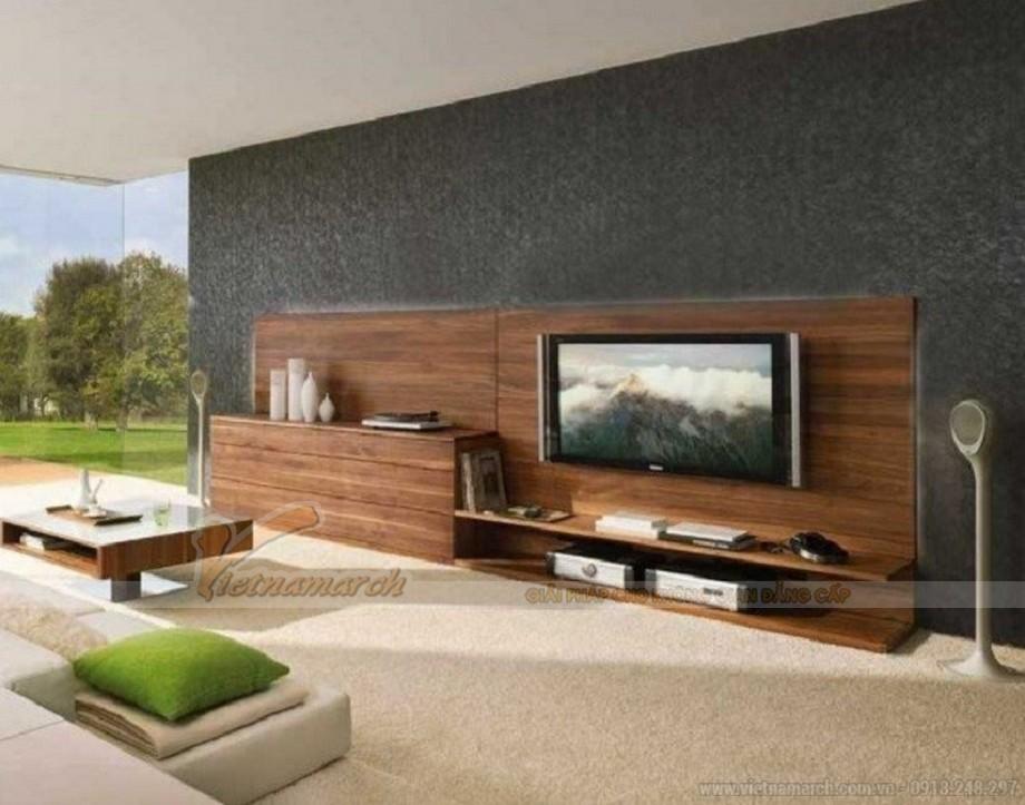 Mẫu tủ tivi thiết kế hiện đại - mang lại đẳng cấp cho không gian sống