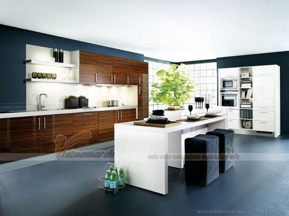 mẫu tủ bếp cao cấp không thể thiếu cho không gian sống lí tưởng