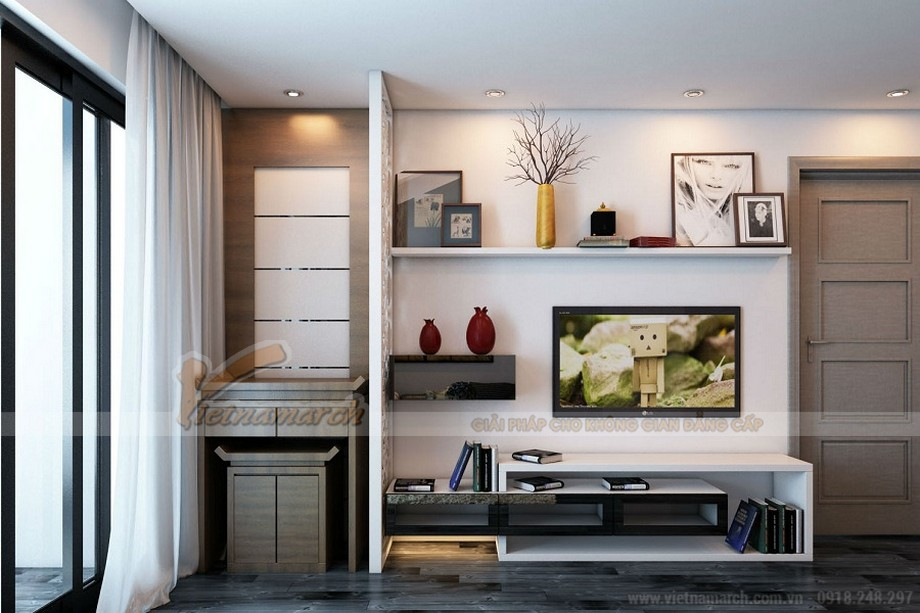 Kệ tivi dành riêng cho các căn nhà chung cư