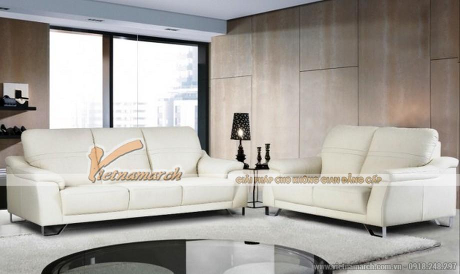 Mẫu sofa nhập khẩu Malaysia tựa cao cho phòng khách hiện đại 03