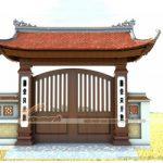 Những mẫu thiết kế cổng nhà thờ họ phong cách truyền thống đẹp nhất