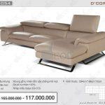 Mẫu sofa Italia màu sắc sang trọng cực kỳ bắt mắt Mã: DG1054 – ARTU.935 – Calia