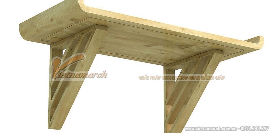 Bàn thờ treo bằng gỗ cao cấp