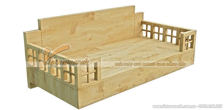 Sản phẩm bàn thờ treo tường bằng gỗ sồi cao cấp