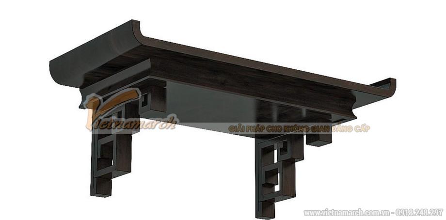 Mẫu bàn thờ hiện đại làm bằng gỗ sồi siêu đẹp