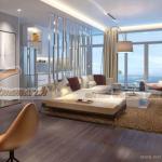 Phương án thiết kế nội thất căn hộ mẫu chung cư Vinhomes Metropolis