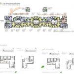 Tổng quan mặt bằng thiết kế các căn hộ tòa A3 chung cư Vinhomes Gardenia