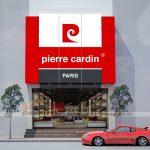 Thiết kế và thi công hoàn thiện nội thất shop giầy PIERRE CARDIN