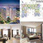 Tổng quan mặt bằng thiết kế các căn hộ tòa A1 chung cư Vinhomes Gardenia
