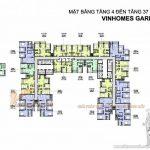 Tổng quan mặt bằng thiết kế các căn hộ tòa A2 chung cư Vinhomes Gardenia
