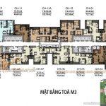 Tổng quan mặt bằng thiết kế các căn hộ tòa M3 chung cư Vinhomes Metropolis