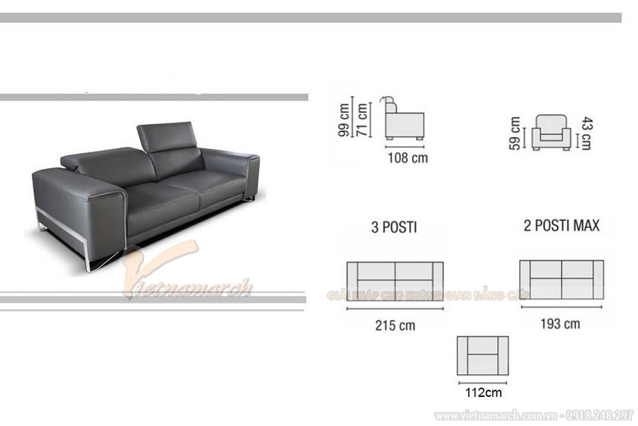 Trải nghiệm không gian sống mới với bộ sofa Italia đẹp mê li
