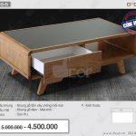 Mẫu bàn trà gỗ tuyệt vời hứa hẹn sẽ thay đổi hoàn toàn không gian nội thất của bạn