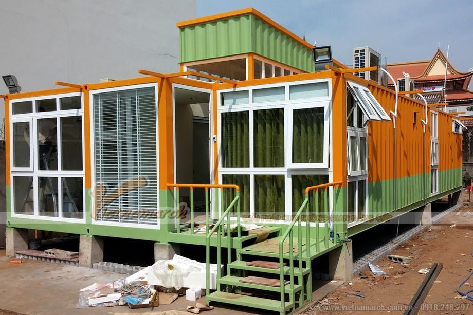 Mẫu nhà Container đẹp hiện đại