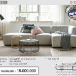 Mẫu sofa Việt hot nhất 2018 được hàng nghìn khách hàng săn đón Mã: NG321