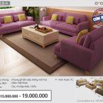 Tân trang phòng khách đón Tết với mẫu sofa Việt sang trọng, cao cấp nhất năm 2018 Mã: NV324