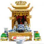Vị trí đặt bàn thờ Thần Tài, Ông Địa và cách cúng Thần Tài, Ông Địa
