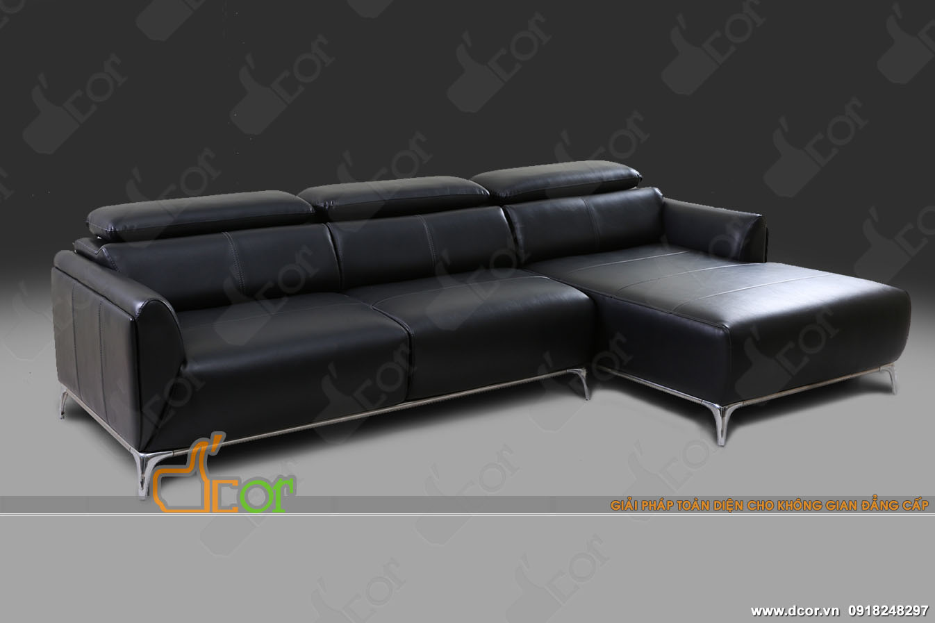 Mẫu Sofa chất liệu da nhập khẩu Malaysia