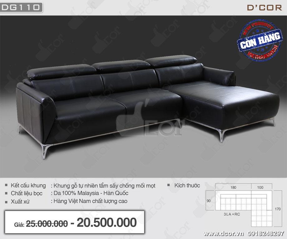 Ghế sofa chất liệu da Malaysia