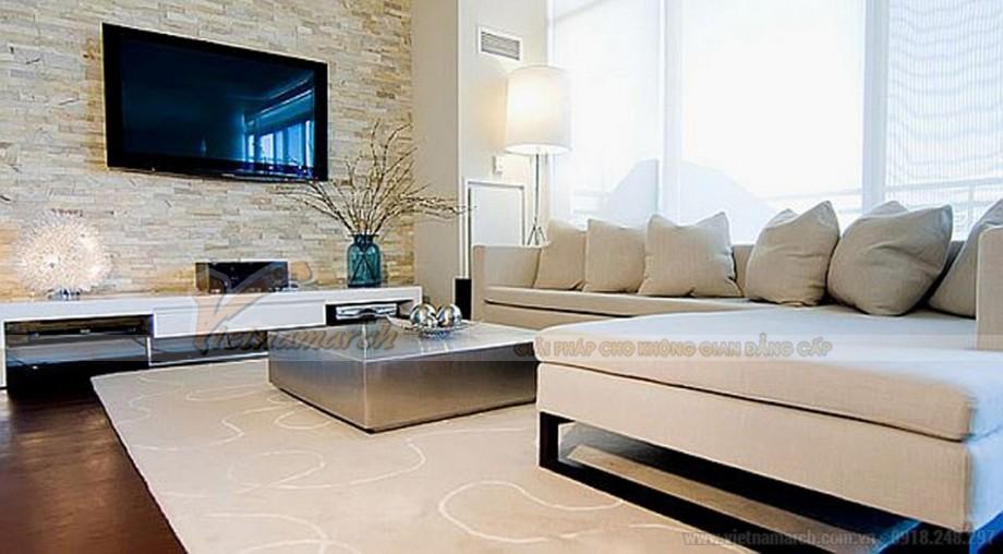 Kệ tivi giành riêng cho căn nhà có không gian phòng khách lớn